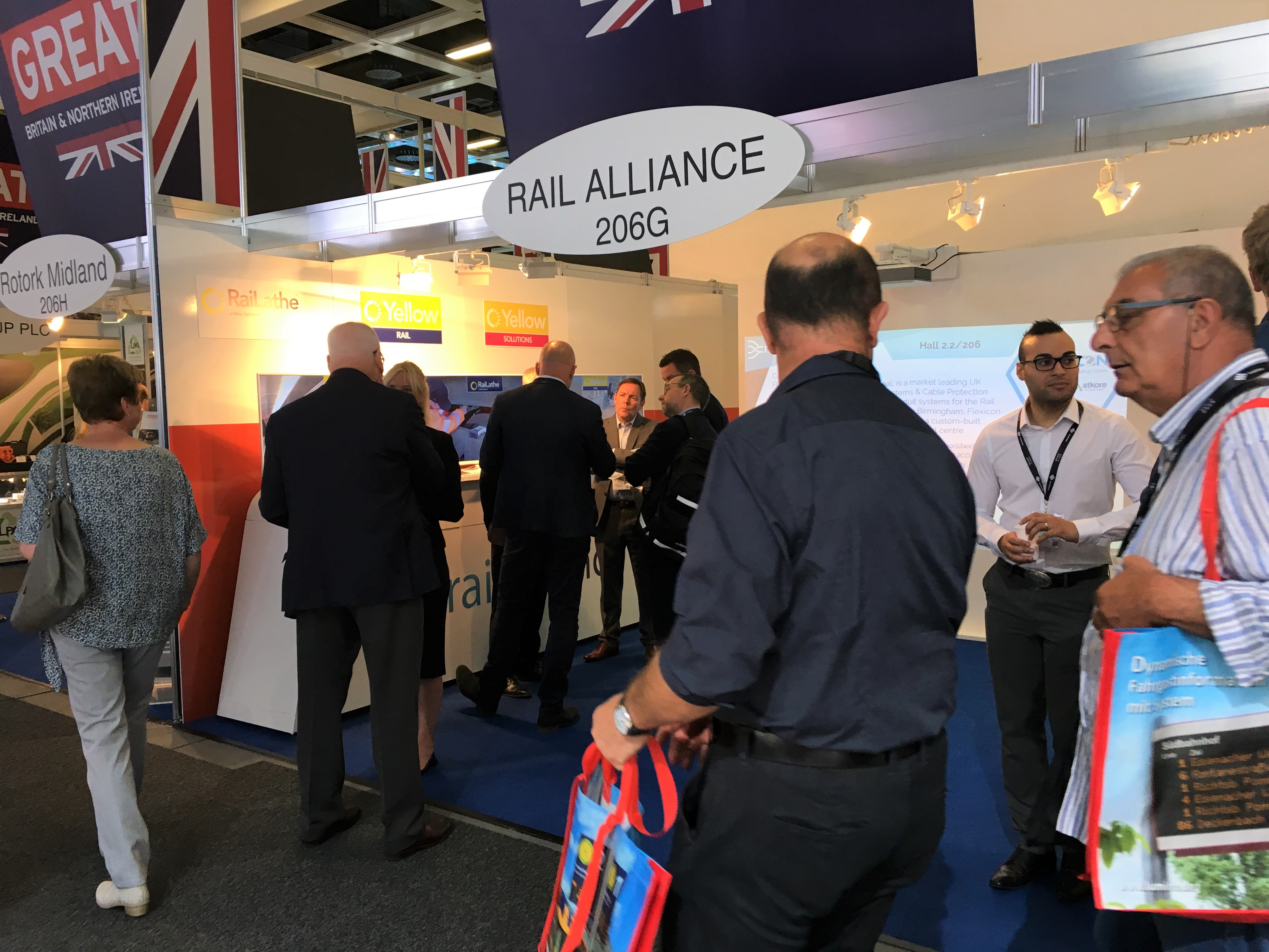 Innotrans 2018 busy stand 1