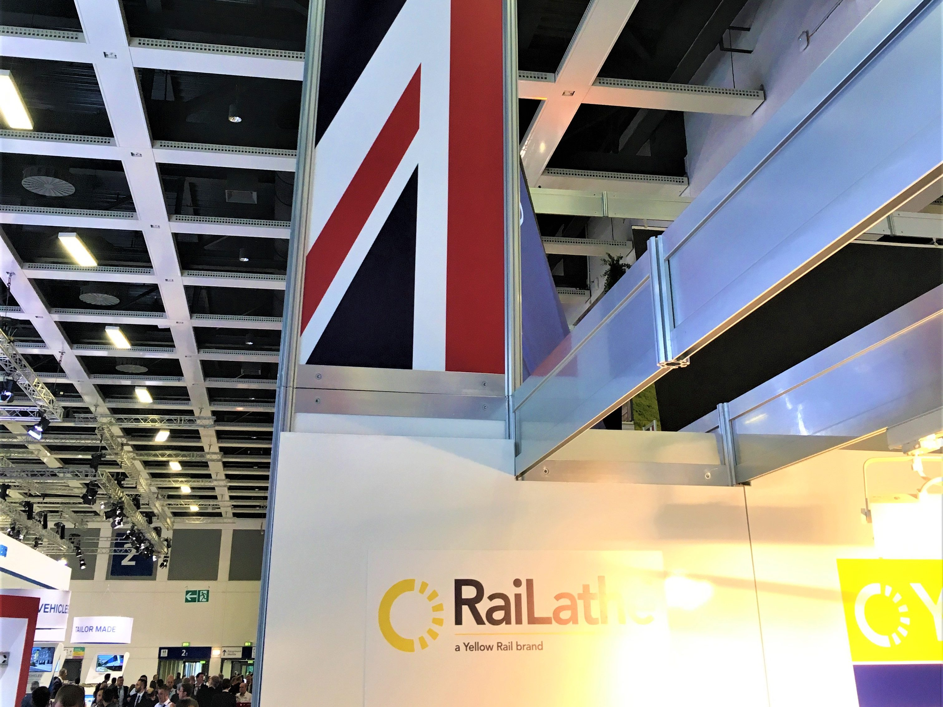 GREAT Pavillion flag Innotrans 2018